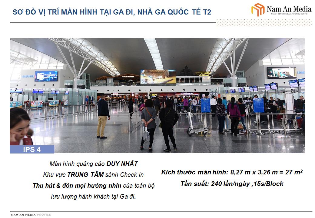 Màn Hình Led Sân Bay Nội Bài
